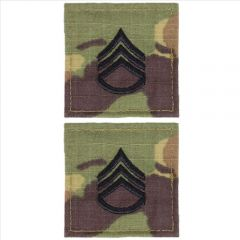 GI Army Staff Sergeant Rank Pair OCP with Hook and Loop