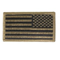 GI Army Reversed Flag Single OCP with Hook and Loop