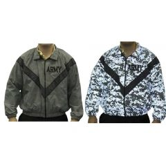 GI US Army IPFU Reveal Reflective PT Jacket