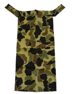 GI Vintage Spotted Camouflage Military Ascot Bib Neck Scarf