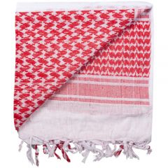 Tactical Shemagh Red and White