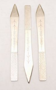 3 Pack of Tru-Thro Throwing Knives