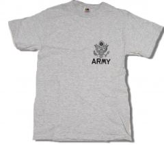 Army T-Shirt with Small Logo