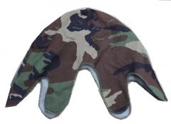 GI Woodland Steel Pot Helmet Cover
