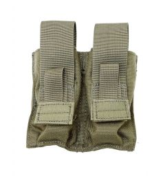 TacProGear Double Pistol Mag Spring Pouch OD