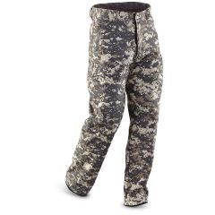 Military Style ACU Fleece-Lined Waterproof Pants