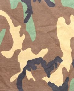 GI Poly Cotton Woodland Camouflage Pattern Material