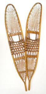 Original WWII Snowshoes with Bindings