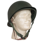 Deluxe M1 Style Steel Pot Helmet and Liner